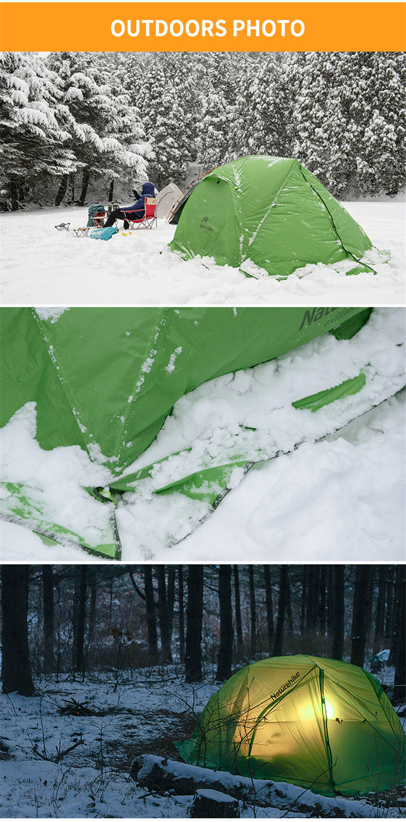 ... choose to go on a trip away from the city. They usually prefer to stay overnight in the mountain or on the grassland .Then a high-quality big tents ... : ultralight winter tent - memphite.com
