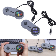 2017 Wired USB Controller Gaming Joypad Joystick handle PC Game controller For Window 7/8/10 Gamepad For Mac For SNES SFC(China)
