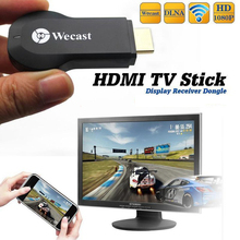 Wireless Wifi wecast mirascreen Cast Phone to HDMI TV Adapter Dongle Receiver for iPhone 6 PLUS Samsung S7 Note 5 HTC LG SONY