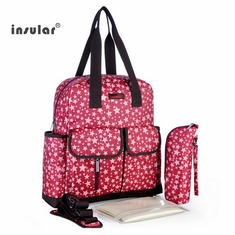 Baby Diaper Backpacks Mummy Bags Nappy maternity Bag Multifunctional Waterproof Organizer large capacity mom bag free shipping<br>