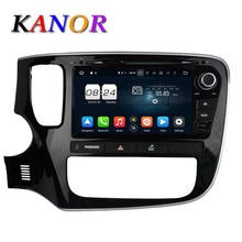 KANOR 2G+32G Octa Core Android 6.0 Car DVD Player For Mitsubishi Outlander 2013 2014 2015 Headunit GPS Navigation Car Stereo