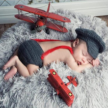 2017 New Baby Photography Props Three Piece Suit Newborn Hats Boy Red Gentleman Bow Tie Dark Grey Baby Photo Clothes Accessories