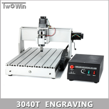 300W MACH3 Control Diy 3040T Mini CNC Machine, Working Area 390 x 280 x 55mm, 3Axis Pcb Milling Machine, Wood Router, cnc router(China)