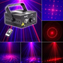 SUNY New RB 16 Patterns Z16RB Laser Light Blue LED Stage DJ Home Party Full Show Club Bar Colorful Professional Christmas Music(China)