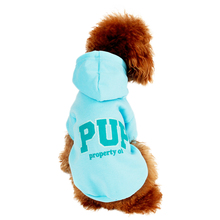 Dog Clothes Free Shippig Fashionable Design Puppy Hoodie Multi color Winter Warm Sport Pet Dog Clothes 4 Sizes S/M/L/XL(China)