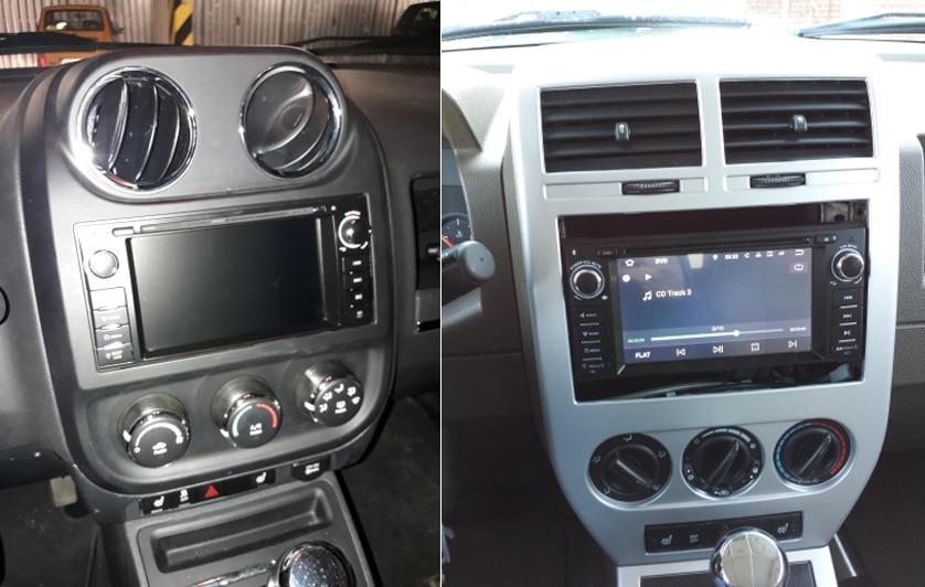 ANDROID8.0 CAR DVD Jeep Compass Grand Cherokee Liberty Patriot DODGE CALIBER RAM CHRYSLER Sebring 300C (1)