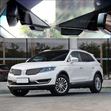 For lincoln MKX 2015 car front camera Driving Video Recorder Car Black Box Wifi DVR Dash Cam wide angle Keep Car Original Style
