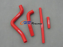 brand new silicone radiator hose kit fits for Kawasaki KX125 KX 125 1999 2000 2001 2002 red(China)