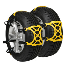 6Pcs/Lot Trucks Snow Chains For Wheels Car Universal Winter Mud Tires Protection Chain Automobiles Roadway Safety Accessories(China)