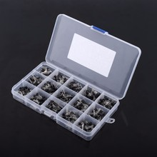 Electronic Transistors 600Pcs 15 Value x 40 Pcs Transistor TO-92 Assortment Box Kit Transistors DIY Tool Parts(China)