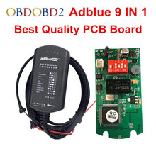 Newest Adblue 9 in 1 Works 9 Brand Trucks Diagnostic Interface Universal Adblue Emulator Adblue 9in1 NOT NEED ANY SOFTWARE(China)