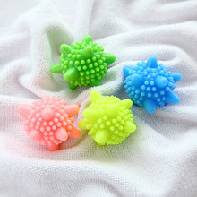 2016 Delicate 4pcs/set Detergent Winding Preventing Cleaning Balls Cleaner Magic Washing Wash Laundry Ball & Discs(China)