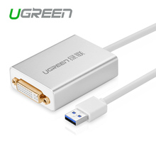 Ugreen High Premium USB 2.0 to VGA External Multi-Display Adapter Female Projector Connector Converter Cable
