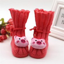 2017 New Children Baby shoes slippers Toddler Knitting Lace Crochet Buckle Handcraft tmall Kids First Walkers For Girls Boy(China)