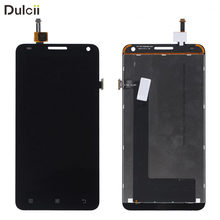 DULCII For Lenovo S580 S 580 OEM LCD Screen and Digitizer Assembly Replace Part Mobile Phone Display Touch Repair Black