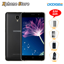 Original DOOGEE X10 Android 6.0 MT6570 Dual Core 5.0 inch 3G WCDMA Smartphone 8GB ROM 512MB RAM Dual SIM WIFI GPS Mobile Phone(China)