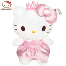 Hot Princess Hello Kitty Dolls Plush Kawaii Toys For Children soft stuffed Kids Christmas Birthday Gift