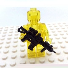 HK416 Assault rifle City swat gun police military tactical lepin model weapons accessories lepin mini figures original Block toy