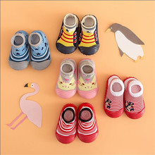 2017 new fashion Attipas baby point toddler socks toddler soft shoes sport shoes children shoes outsole girl boy shoes bebe(China)