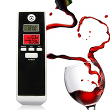 Free Shipping Dual LCD Display Clock Digital Breath Alcohol Tester with Backlight PET-661S factory suppy(China)