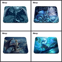Best Sales Customized Mouse Pad New Anti-Slip PC Cute Cartoon Anime Ice dragon Silicon Mouse Pad Mat Mice Pad for Optical mat