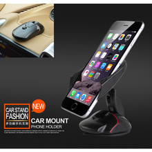 Mount Car Phone Holder Foldable for SAMSUNG MyShot ll Flight I Car Sucker Phone Stand Holder for SsangYong Rexton Chairman(China)