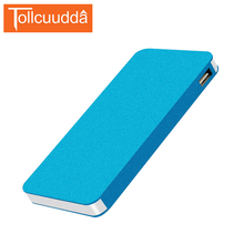 Tollccudda Portable Power bank 6000mAh Ultra Thin Metal PoverBank External Battery Pack 2 USB Charger For iPhone 6/6s All Phone