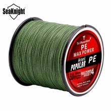 Seaknight Brand Tri-Poseidon Series 300M 4 Strands Braided Fishing Lines Strong Japan Multifilament PE Line 8-60LB Braided Wire