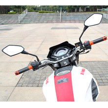 8mm 10mm 2 Pieces/Pair Electrombile Mirror Motorcycle Rear View Mirrors Electrical Motor E-Bike Back Side Convex mirror