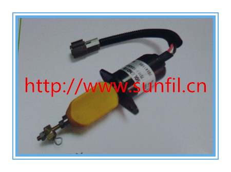 Fuel Shutdown Solenoid Valve 1751ES-12A3UC12B1S SA-4673-S  for Excavator engine12V ,4PCS/LOT<br>
