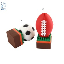 KRY hot rugby drive USB2.0 flash memory card 4GB 8GB 16GB 32GB 64GB high speed 3.0 football flash memory notebook memory stick