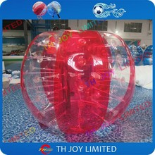 with Shipping 0.8mm PVC 1.5m dia inflatable bubble ball bubble bumper ball bubble soccer ball