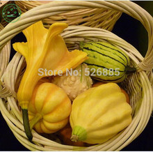 Special sales ornamental fruit seeds Cucurbita moschata, peach, melon, edible ornamental pumpkin,about 8 particles/pack b79(China)