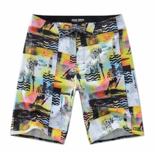 2017 New Offer Summer Board Shorts Men Beach Vacation Mens Swimming Shorts Printed Quick Dry Surfing Shorts