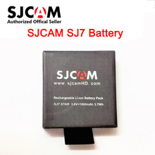 Original SJCAM SJ7 3.8V 1000mAh 3.7Wh Li-ion Battery Black for SJCAM SJ7 Star Sport Camera Batteries(China)