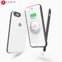 Original KUNER 2400mAh Ultra Slim Extended Battery Case & 64G Memory  Power Bank Fits for Apple iPhone 6 and 6S 4.7inch  HU808
