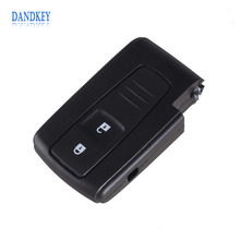 Dandkey 2 BUTTON REMOTE KEY CASE FOR TOYOTA PRIUS COROLLA VERSO