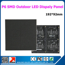TEEHO outdoor p6 led panel 3535SMD outdoor waterproof rgb led panel for big high bright outdoor led screen(China)