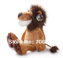 Stuffed Animal jungle africa Lion huge Soft Plush toy 9 inch toy 25cm wt71(China)