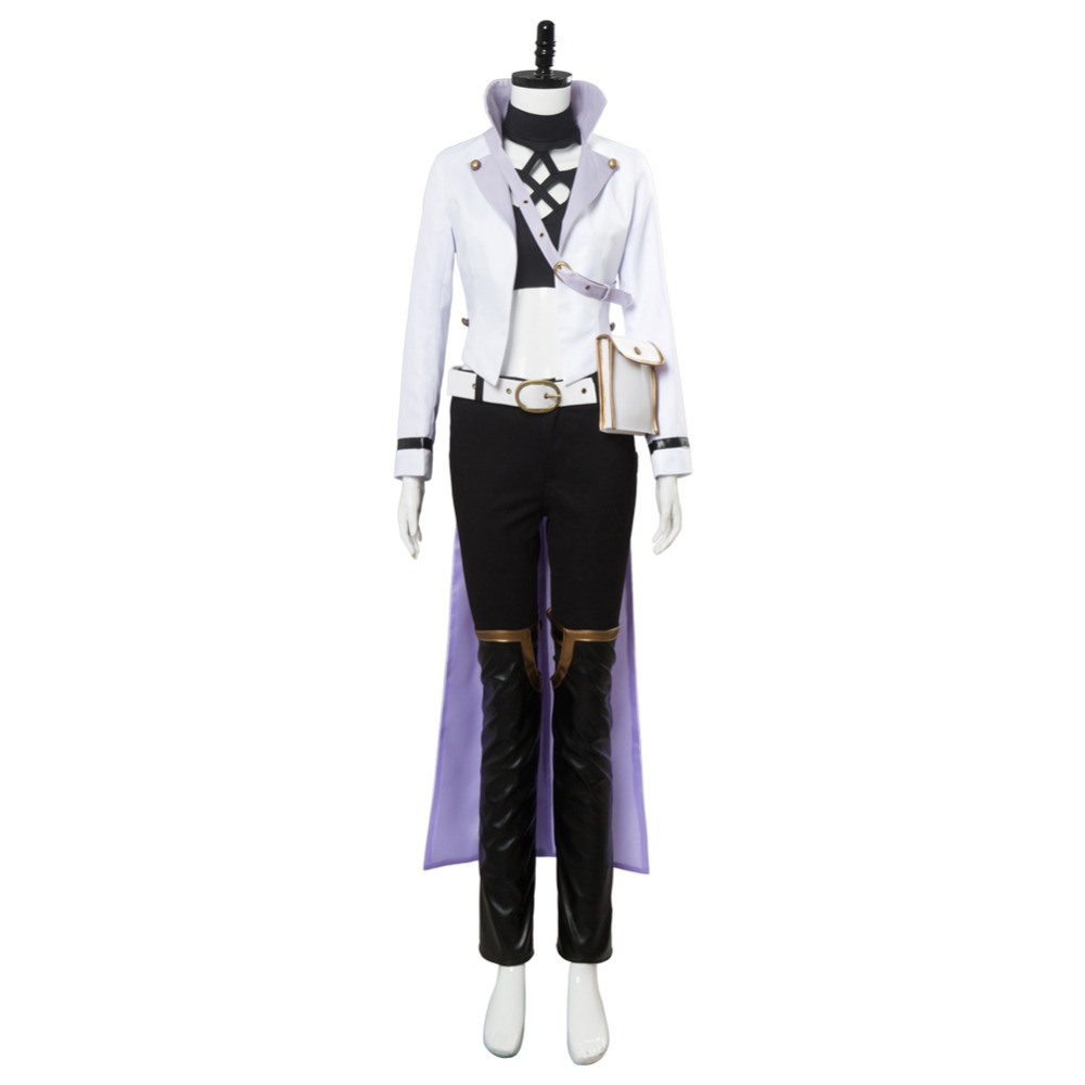 RWBY Season 4 S4 Blake Belladonna Post-Timeskip Cosplay Costume Suit Outfit Halloween Carnival Costumes