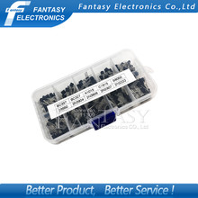 10value 200PCS BC337 BC327 2N2222 2N2907 2N3904 2N3906 S8050 S8550 A1015 C1815 Transistor Assortment Kit Transistors Box Pack