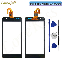 Buy M36H Touchscreen Front Panel Digitizer Sony Xperia ZR M36H M36 C5502 C5503 Touch Screen Sensor LCD Display Glass Replacement for $7.58 in AliExpress store