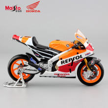 1:18 scale kids mini collectible honda repsol rcv 2014 motorbike diecast race metal cars motorcycle collection toys for children