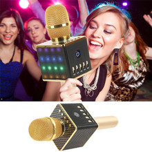 2017 Professional H8 Wireless Bluetooth Microphone Karaoke Home KTV Microphone Speaker Echo Reverberation For android ios New