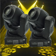 (2 pieces/lot) china moving head led stage lighting effect for sell 60w led mini moving head spot light ,led moving head 60w(China)