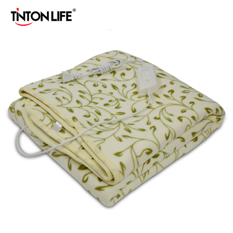 TINTON LIFE 150*120cm Electric Blanket Bed Heating Electric Blanket Warm Pad for Double<br>