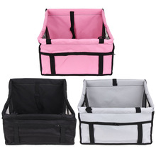 Pet Hammock Car Mat Seat Cover Bag Storage Pocket Waterproof Folding Washable Puppy Beds Soft Mats Basket with Traction Buckle