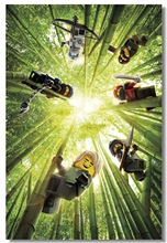 Custom Canvas Wall Mural Lego Ninjago Movie Poster Video Game Wall Stickers Lloyd Jay Wallpaper Cafe Bar Decorations #0766#