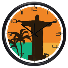 Brand Popular Long life Coffee Shop Office Wall Clock Originality Large Quality Brazil Rio Watch(China)
