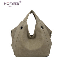 HORYEER 2016 valentine bags Women Handbag Canvas Women Messenger Bags Vintage Shoulder Crossbody Bags Bolsas Femininas De Ombro(China)